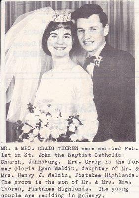 Wedding: Mr & Mrs Craig Thorson