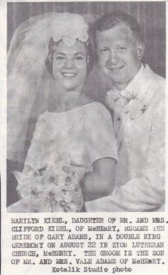 Wedding: Mr & Mrs Gary Adams