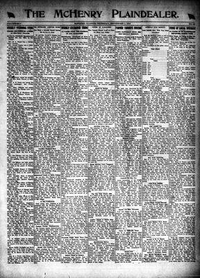 McHenry Plaindealer (McHenry, IL), 4 Sep 1919