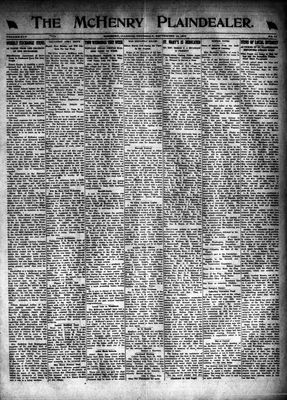 McHenry Plaindealer (McHenry, IL), 18 Sep 1919