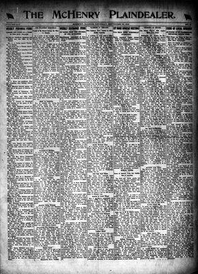 McHenry Plaindealer (McHenry, IL), 25 Sep 1919