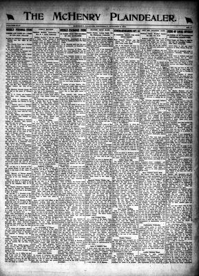 McHenry Plaindealer (McHenry, IL), 9 Oct 1919