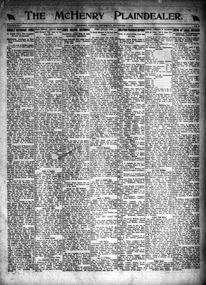 McHenry Plaindealer (McHenry, IL), 6 Nov 1919