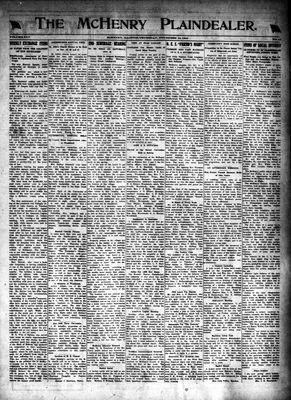 McHenry Plaindealer (McHenry, IL), 13 Nov 1919