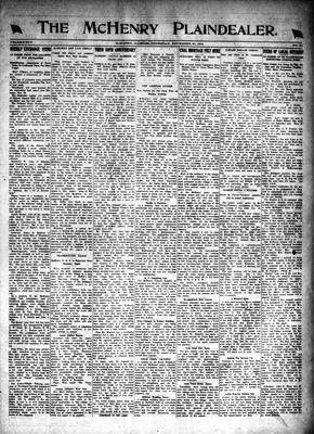 McHenry Plaindealer (McHenry, IL), 20 Nov 1919