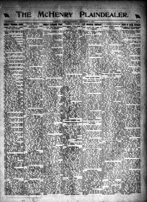McHenry Plaindealer (McHenry, IL), 27 Nov 1919