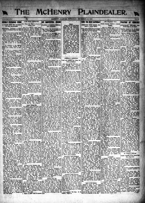 McHenry Plaindealer (McHenry, IL), 18 Dec 1919