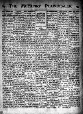 McHenry Plaindealer (McHenry, IL), 25 Dec 1919