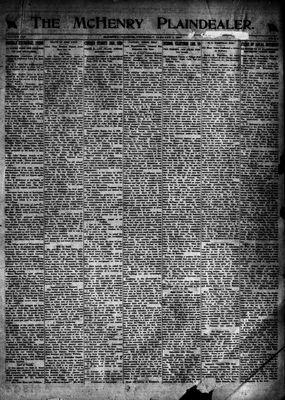 McHenry Plaindealer (McHenry, IL), 1 Jan 1920