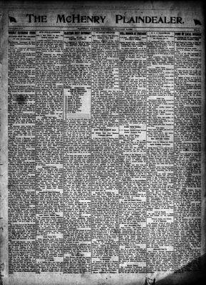 McHenry Plaindealer (McHenry, IL), 8 Jan 1920