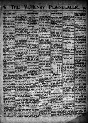 McHenry Plaindealer (McHenry, IL), 15 Jan 1920