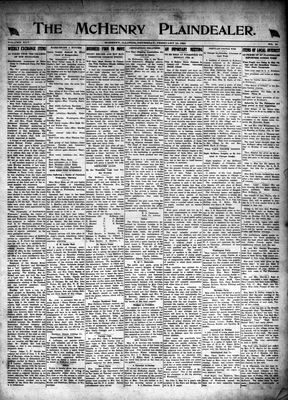 McHenry Plaindealer (McHenry, IL), 19 Feb 1920