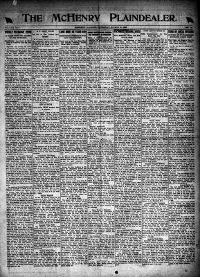 McHenry Plaindealer (McHenry, IL), 11 Mar 1920