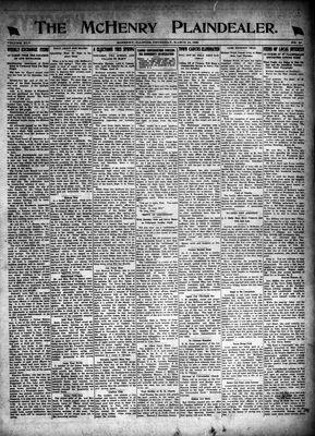McHenry Plaindealer (McHenry, IL), 18 Mar 1920