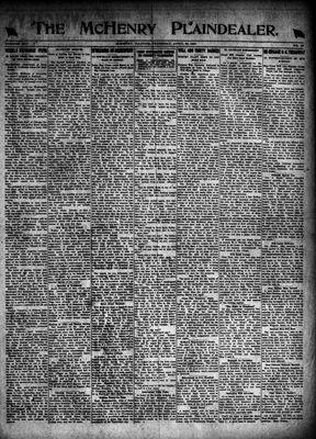 McHenry Plaindealer (McHenry, IL), 29 Apr 1920