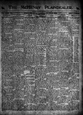 McHenry Plaindealer (McHenry, IL), 6 May 1920