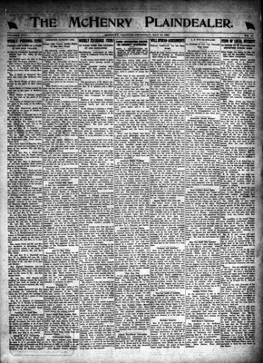 McHenry Plaindealer (McHenry, IL), 13 May 1920