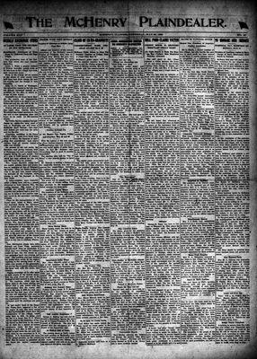 McHenry Plaindealer (McHenry, IL), 20 May 1920