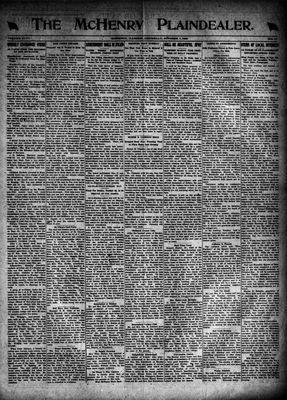 McHenry Plaindealer (McHenry, IL), 7 Oct 1920
