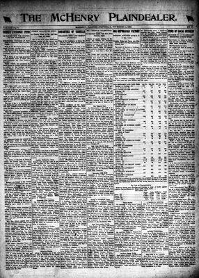 McHenry Plaindealer (McHenry, IL), 4 Nov 1920