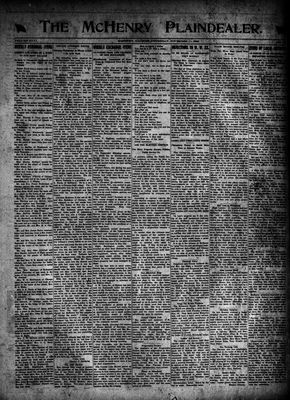 McHenry Plaindealer (McHenry, IL), 11 Nov 1920