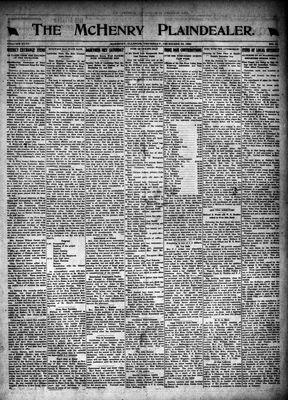 McHenry Plaindealer (McHenry, IL), 23 Dec 1920