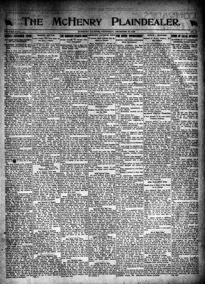 McHenry Plaindealer (McHenry, IL), 30 Dec 1920