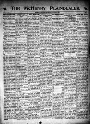 McHenry Plaindealer (McHenry, IL), 13 Jan 1921