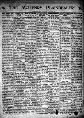 McHenry Plaindealer (McHenry, IL), 27 Jan 1921