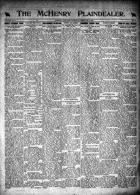 McHenry Plaindealer (McHenry, IL), 3 Feb 1921