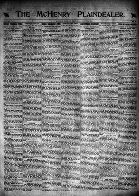 McHenry Plaindealer (McHenry, IL), 31 Mar 1921