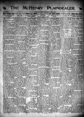 McHenry Plaindealer (McHenry, IL), 7 Apr 1921