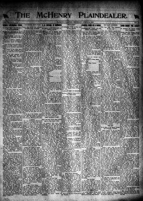McHenry Plaindealer (McHenry, IL), 21 Apr 1921
