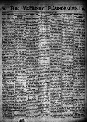 McHenry Plaindealer (McHenry, IL), 5 May 1921