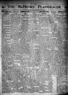 McHenry Plaindealer (McHenry, IL), 12 May 1921