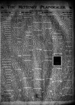McHenry Plaindealer (McHenry, IL), 14 Jul 1921