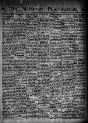 McHenry Plaindealer (McHenry, IL), 13 Oct 1921