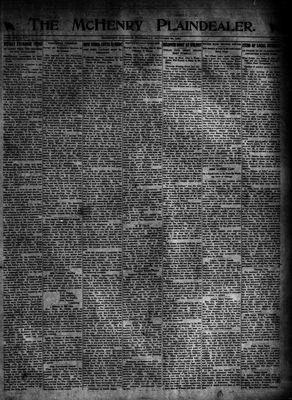 McHenry Plaindealer (McHenry, IL), 20 Oct 1921