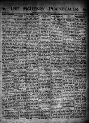 McHenry Plaindealer (McHenry, IL), 27 Oct 1921