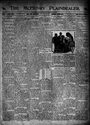 McHenry Plaindealer (McHenry, IL), 3 Nov 1921
