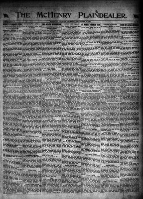 McHenry Plaindealer (McHenry, IL), 10 Nov 1921