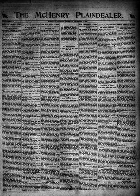 McHenry Plaindealer (McHenry, IL), 1 Dec 1921