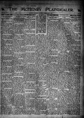 McHenry Plaindealer (McHenry, IL), 8 Dec 1921