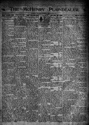 McHenry Plaindealer (McHenry, IL), 22 Dec 1921