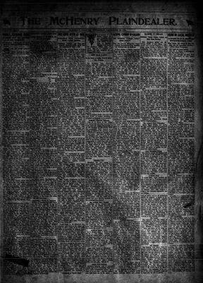McHenry Plaindealer (McHenry, IL), 29 Dec 1921