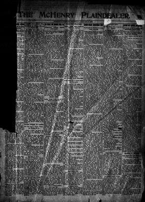 McHenry Plaindealer (McHenry, IL), 5 Jan 1922
