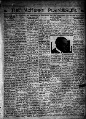 McHenry Plaindealer (McHenry, IL), 12 Jan 1922