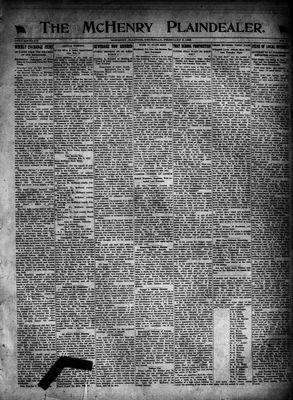McHenry Plaindealer (McHenry, IL), 9 Feb 1922