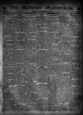 McHenry Plaindealer (McHenry, IL), 9 Mar 1922