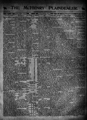McHenry Plaindealer (McHenry, IL), 13 Apr 1922